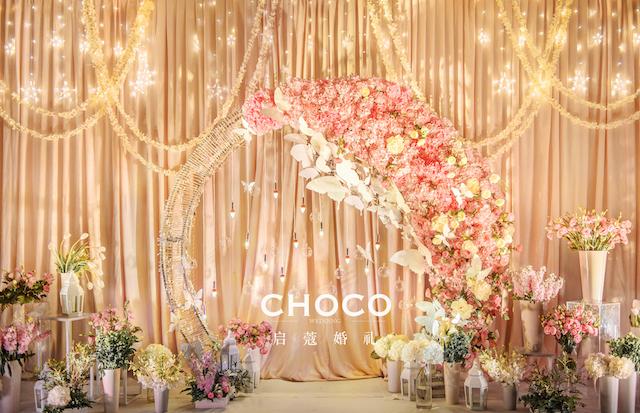 婚禮作品 | 金色夢幻小花園