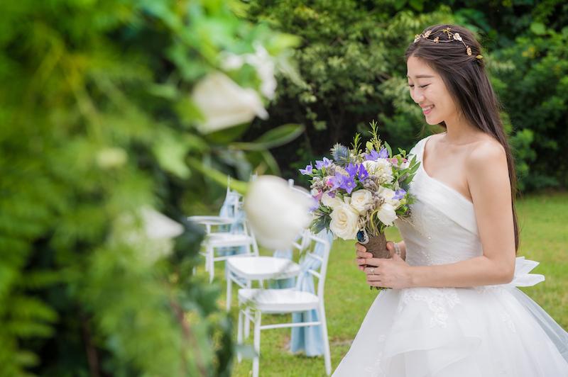 婚禮庫:經典手捧花-1