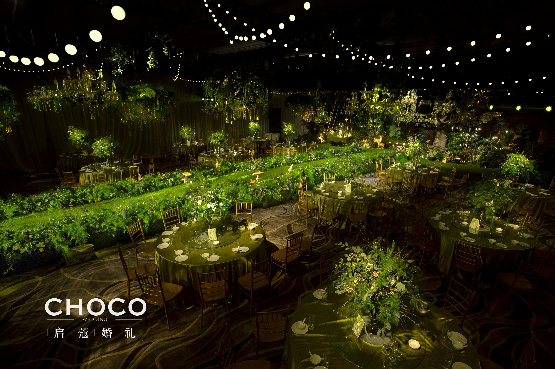 森系婚禮作品 | 螢火之森