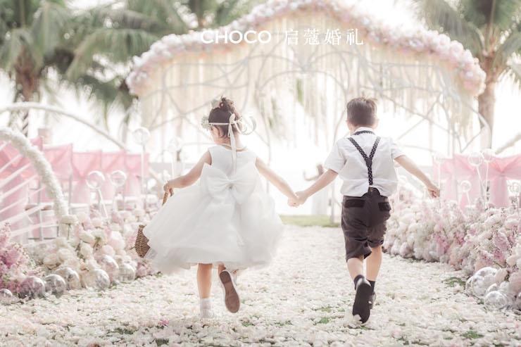 三亚婚礼 | 两小无猜