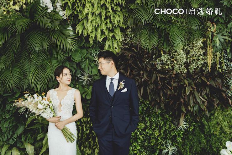 戶外婚禮 | 一起走過的路